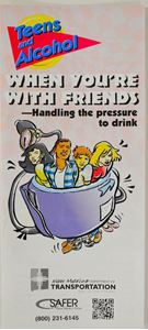 Picture of Teens & Alcohol Handling Pressure Brochure - English