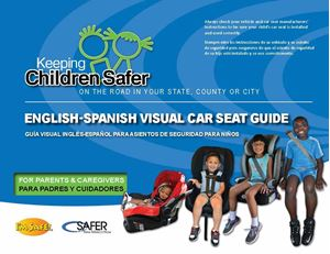 Picture of Bilingual Visual Car Seat Guide For Parents